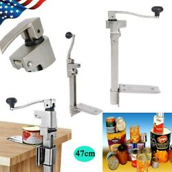 Large Commercial Catering Kitchen Heavy Duty Bench Table Clamp Tin Can Opener Z
