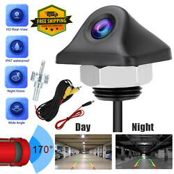 Universal Car Rear View Camera Auto Parking Reverse Backup Camera Night Vision $12.97