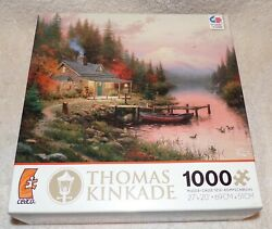 Ceaco Thomas Kinkade The End of a Perfect day 1000 Piece Puzzle $9.99