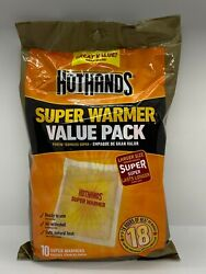 HotHands Body & Hand Super Warmers - Large Size Expires 0323 $10.56