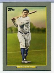 2009 Topps Turkey Red #TR1 Babe Ruth HOF YANKEES $3.49