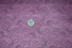 Cranston Print Works Cotton Quilting Fabric Shades of Burgundy Scroll Print 4 yd $17.96