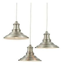 Allen Roth Hainsbrook 18.3 in 3 Light Chandelier Antique Pewter Finish Led $42.49