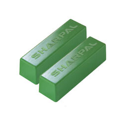 SHARPAL 2X 4Oz.Green Rouge Jewelers Buffing Compound Jewelry polish Metal Luster $9.99