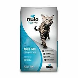 Premium Nulo Grain Free Dry Cat Food Indoor Adult Trim or Hairball 12 lb $56.99