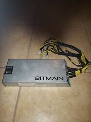 Bitmain Power Supply PSU Antminer  APW3 for S9 or L3 or D3 $50.00