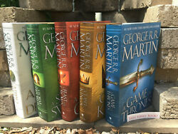 Song of Ice and Fire Game of Thrones Hardcover Set George R. R. Martin Set NEW $139.95