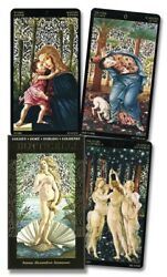 Botticelli Golden Tarot Deck Lo Scarabeo New Sealed $32.99