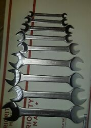 ✔Brand New 🔧Heyco 3509470 Metric Open End Wrench 🔧Set 9 Pieces ✔ $48.00