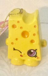 New Shopkins Cheesy Chee-Zee 2013 Christmas Ornament $7.25