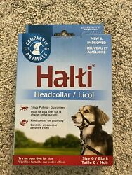 Halti DOG Headcollar Black Size 0 Yorkie Toy poodle min dachshund adjustable $9.79