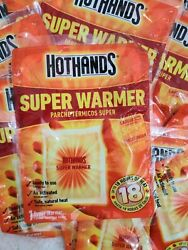 Hot hands Hand Body Warmer Super Warmers 18 Count 18 Hours Heat $26.99