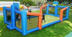 Sportspower Outdoor Inflatable Basketball Court Bounce House Playground Kids $1,353.48