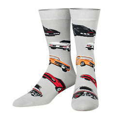 Cool Socks Unisex TV Classic Cars Crew Novelty Funny Silly Cool 80#x27;s $10.99