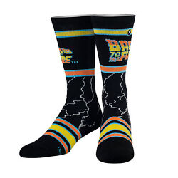 Odd Sox Unisex Movies Back To The Future Crew Socks Cool Fun Novelty 80#x27;s $14.99