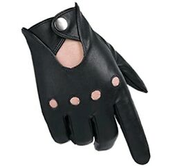 Popuglove Classic Faux Leather Touchscreen Gloves Large $12.99