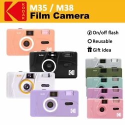 Genuine Kodak Vintage Retro M35 35mm Reusable Non Disposable Film Camera $32.98