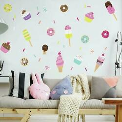 Sweet treats RoomMates Vinyl Wall Bedroom 69 Removable Decal Stickers RMK3769SCS $13.89