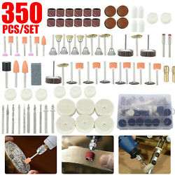 350pcs Dremel Rotary Accessory Kit Grinding Sanding Polishing Rotary Tool Set US $22.48
