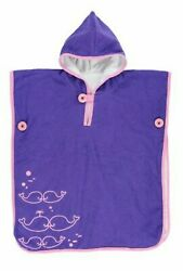 Baby Toddler Hooded Beach Towel Michael Phelps Level 1 Swimming Poncho Purple $10.95