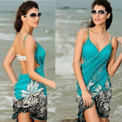 Women Summer Beach Dress Bikini Swimwear Bathing Cover Up Shawl Sexy Wrap Paro $10.99
