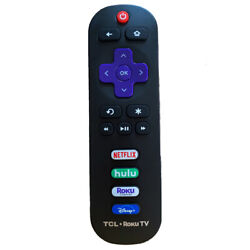 New Original RC280 For TCL Roku TV Remote Control With NETFLIX HULU Roku Channel $7.65
