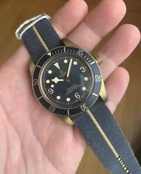 New Tudor BUCHERER BLUE Black Bay Bronze 43mm Limited Special Edition 79250BB $5,395.00