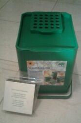Kitchen Compost Collector 1.5 gal. plus a pack of 3 extra filters C $11.00