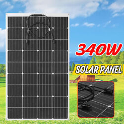 340W 240W 18V Flexible Monocrystalline Solar Panel Connector Car Boat Camping $122.99