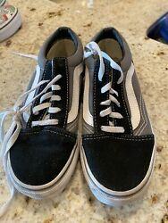 Vans Off The Wall Girls Shoes Size 1 $18.00