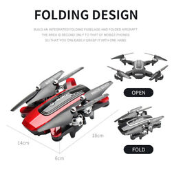 RED Drone Foldable Quadcopter GPS WIFI FPV 1080P Wide-Angle HD Camera BEST GIFT $79.99
