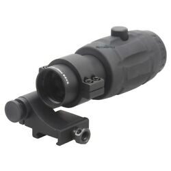 Vector Optics Tactical 5X Magnifier Scope for Red Dot Sights Flip to Side Mount $99.00