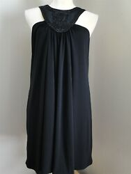 Laundry by Shelli Segal Black Cocktail Dress Size 10 $39.97