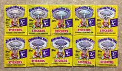 1986 Garbage Pail Kids 4th Series- 10 Different Packs-Variation Lot! TWT $54.99