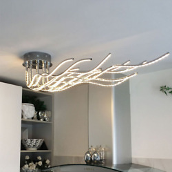 Aluminum Branch Lighting Modern Ceiling Lamp Restaurant Chandelier LED Fixtures