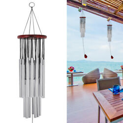 Wind Chimes Outdoor Large Deep Tone 31 Inches Memorial Wind Chimes with 27 Tubes $12.49