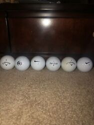 50 Mixed Name Brand Used Golf Balls AAAA 4A Great Quality $22.00