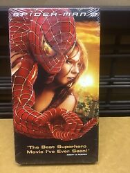 SPIDER MAN 2   (VHS 2004)  NEW. UNOPENED PACKAGE $4.79