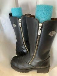 Womens leather Harley Boots Size 6 $95.00