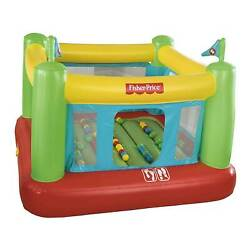 Fisher Price Indoor Kids Bouncesational Inflatable Bounce House Open Box $109.99