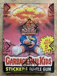 1986 Garbage Pail Kids 5th Series 48 Unopened Packs-BBCE OS5 BOX w Poster! TWT $224.99