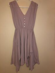 Free People FP Beach Dress Blush Pink Size Small See Photos $36.00