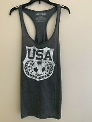 FIFTH SUN Women#x27;s Tank Top Razorback Gray Size XL $6.00