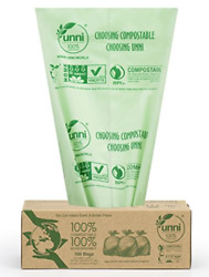 UNNI Compostable Bags 100 Count 1 Roll $16.27