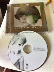 CD - The Best of 1980-1990 by U2 - Very Good Condition Plays Great!!