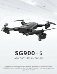 SG900 S Foldable Quadcopter 1080P HD Drone Quadcopter WIFI Drones GPS Fixed Poin $140.00