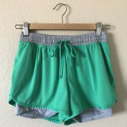 Champion two toned green and grey athletic shorts $6.90