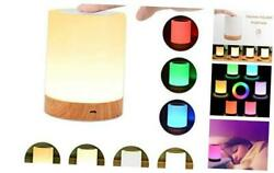 Night Light UNIFUN Touch Lamp for Bedrooms Living Room Portable Table Bedside L $28.05