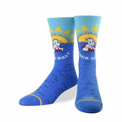 Cool Socks Women#x27;s Animals Float Your Goat Crew Cute Novelty Silly Fun Dres $10.00