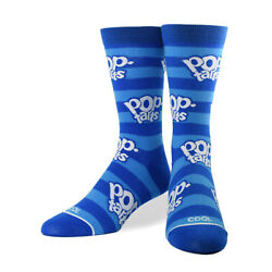 Cool Socks Women#x27;s Food Pop Tarts Logo Crew Snacks Cute Fun Novelty Dress $11.00